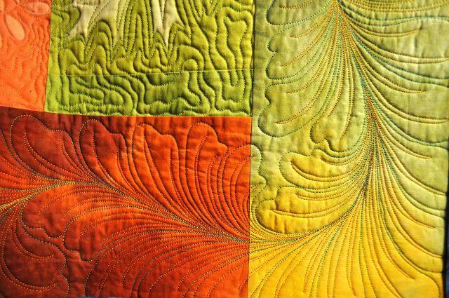 LuAnn Kessi: Machine Quilting......Warm Up Design