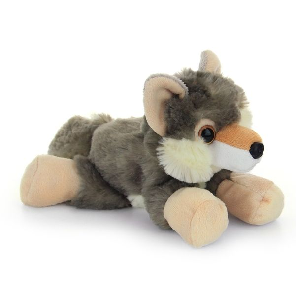 hug ems small wolf stuffed animal by wild republic beauty and the