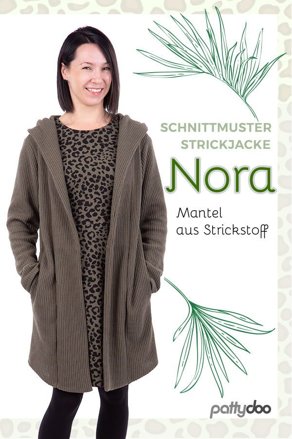 "Photo of Women's coat ""Nora"" ► with video instructions"