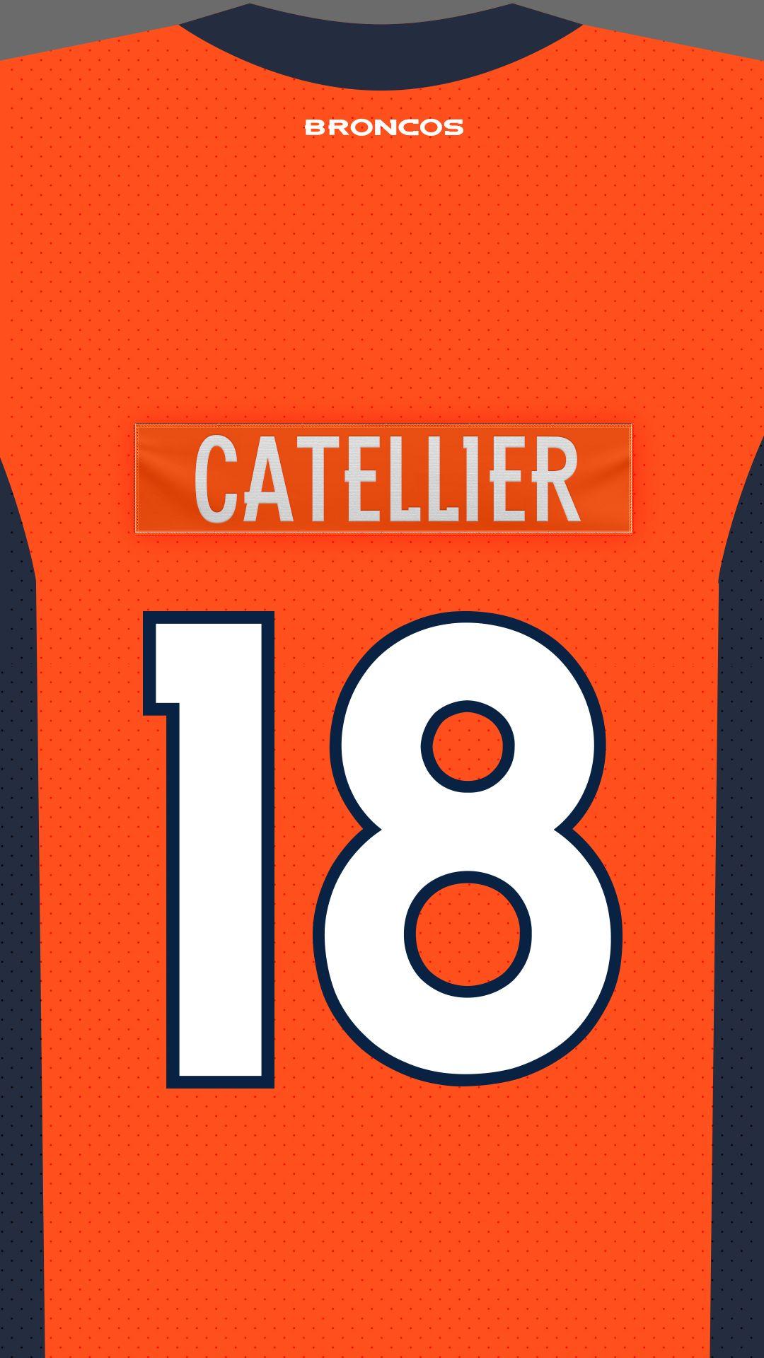 Denver Broncos on Broncos, Denver broncos, Lululemon logo