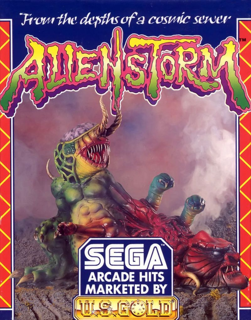 Alien Storm Commodore 64 [c64 gamepixels xyz] | Gaming [C64