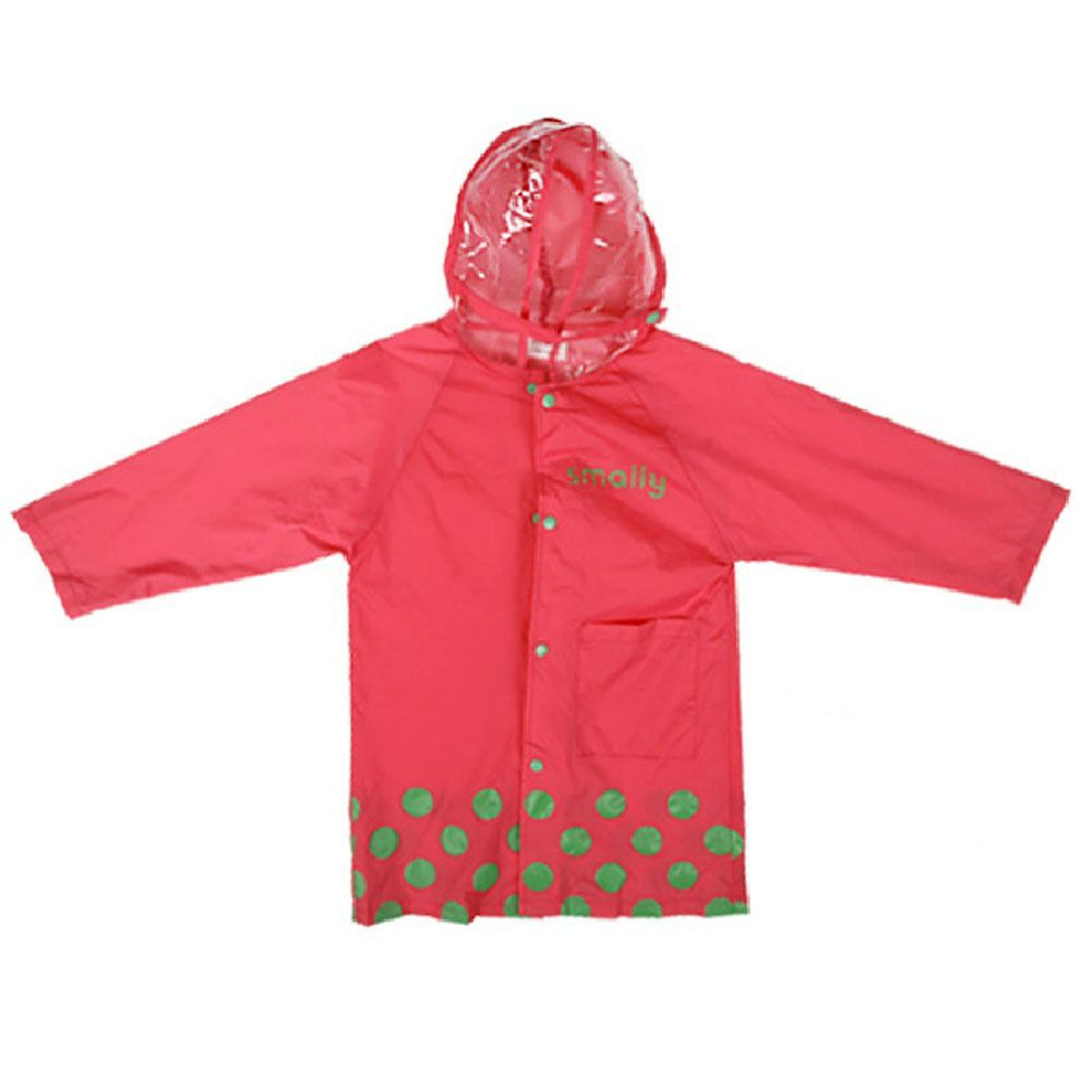 Cute Baby Rain Jacket Infant Raincoat Toddler Rain Wear ROSE ...