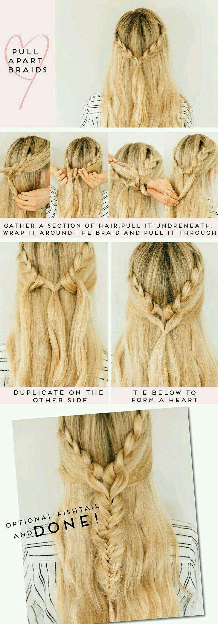 Pull through braid hair tutorial kassinka braid hair tutorials