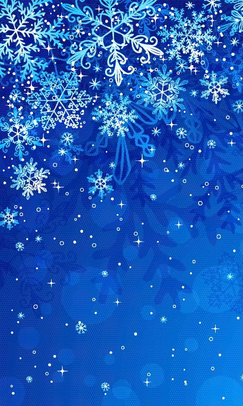 Download 480x800 «Snowflakes» Cell Phone Wallpaper