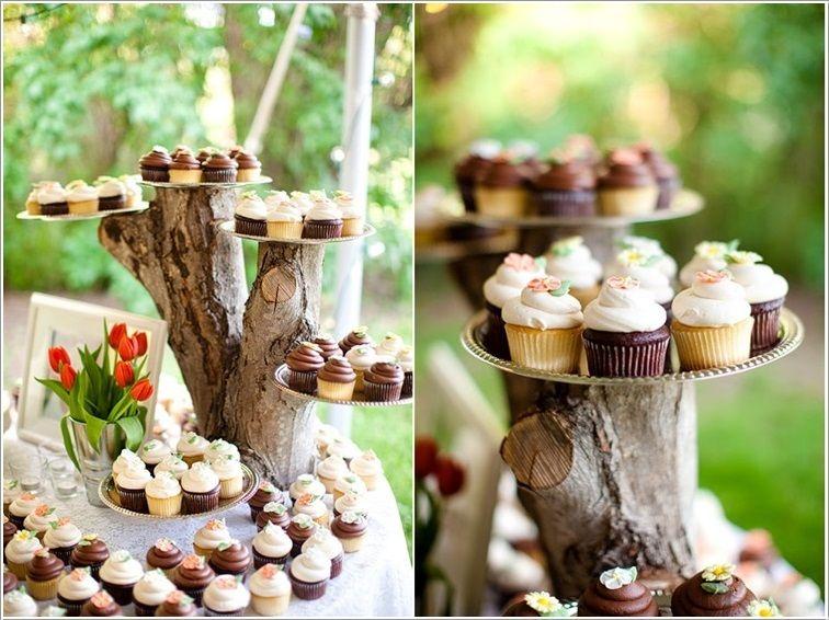 10 Exibir Cupcakes e Arranjo Idéias Incríveis