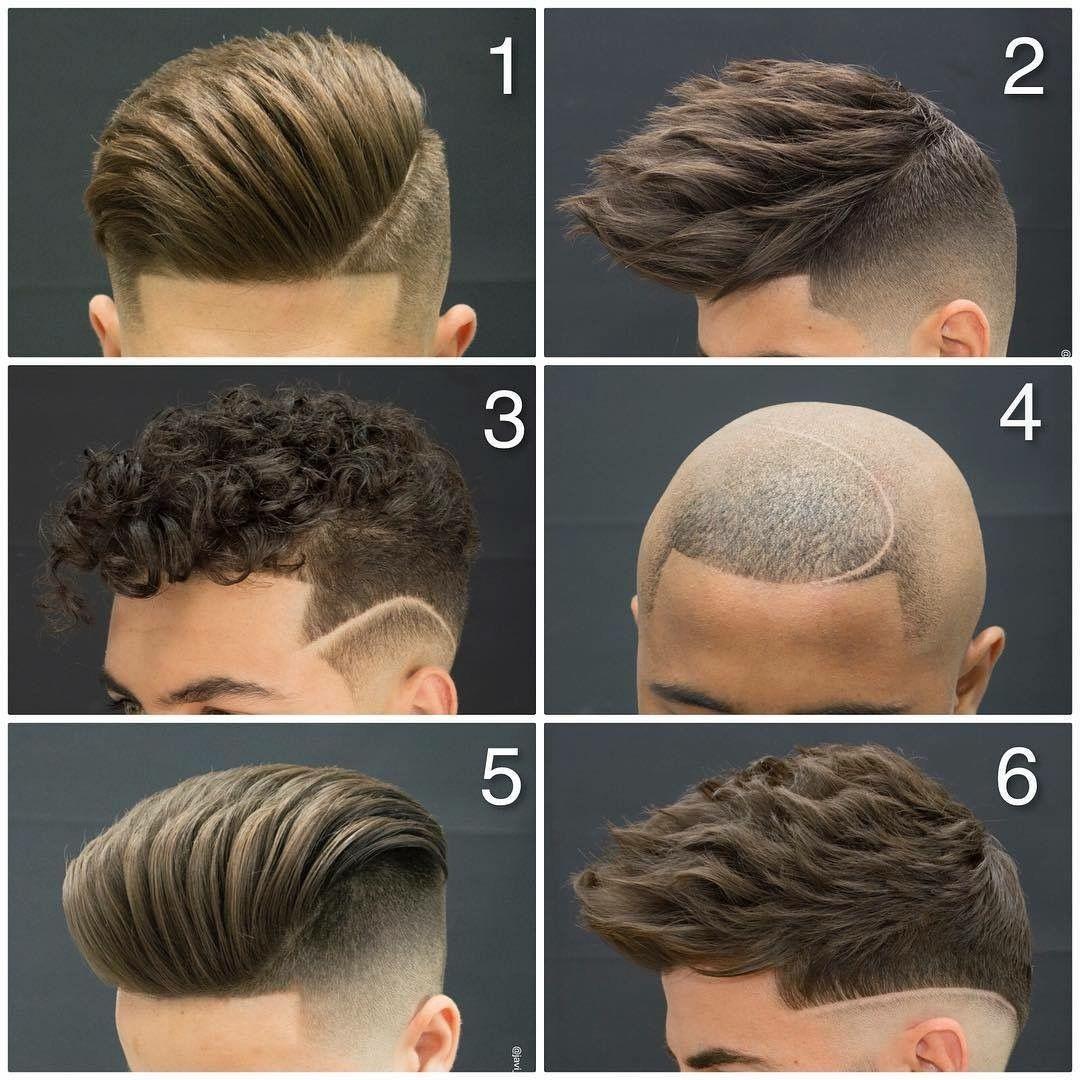 Cortes de cabello para hombres dibujos