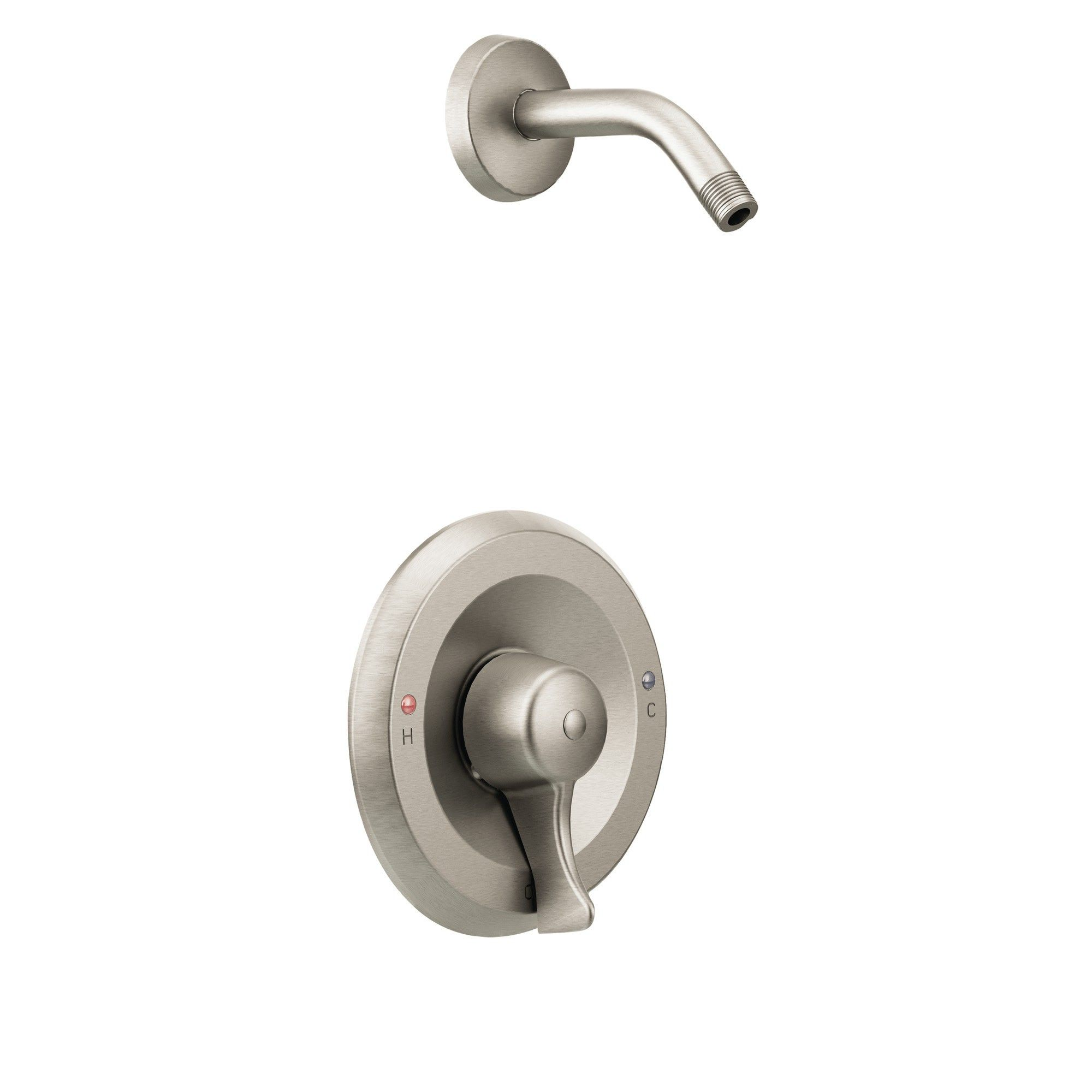 Single Handle Posi Temp Pressure Balanced Shower Trim Without