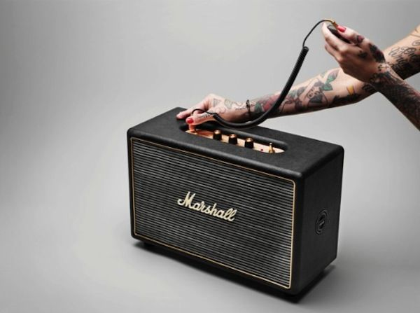 Marshall Hanwell Speaker - Classic Guitar Amp Aesthetic for your Home - IGN. no price yet - but gonna be mine ;)