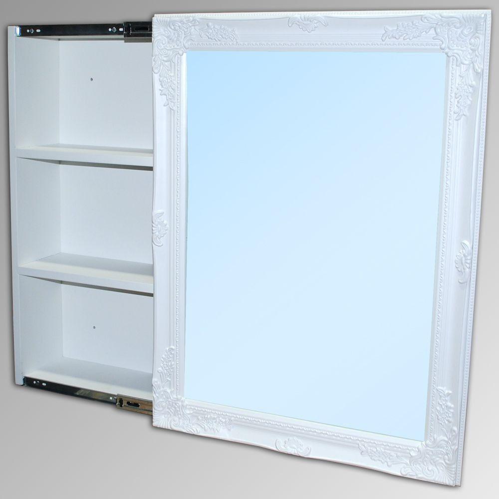 Badezimmer Spiegelschrank Xenia Weiss Bild 1 Badezimmer