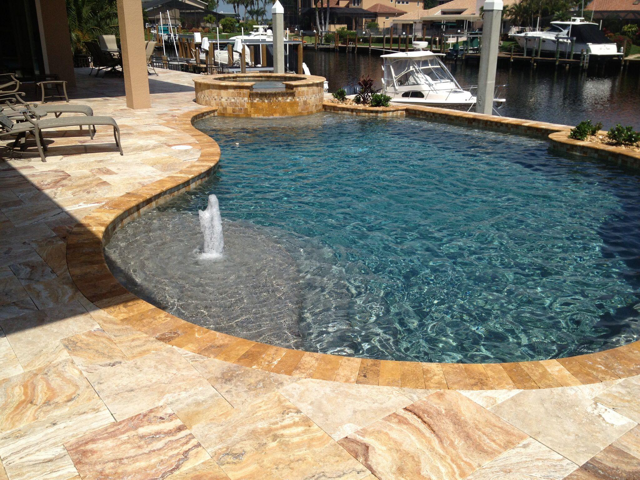 Pebble Tec Tahoe Blue Pebble Tec Pools Pinterest Backyard - Black pearl pebble tec pool bottom