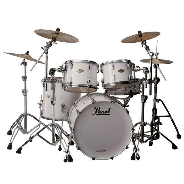 Pearl Master Premium Legend MPL924XEP #109 Arctic White - Musik-Produktiv UK