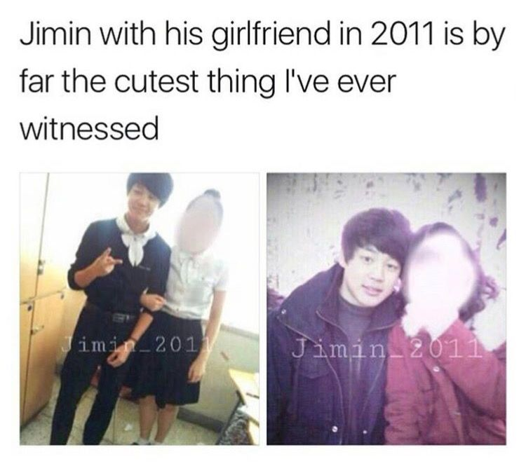 Photo of That's why I don't mind if they have a girlfriend it would be hella cute ^•^