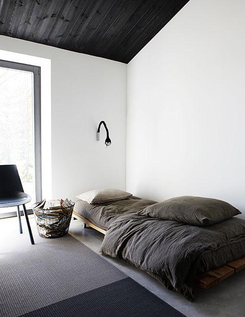 modern simplicity - can be a great teener room - PHOTO:Riikka Kantinkoski / Avotakka