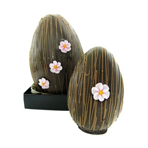 Small blossom easter egg chocolate brown shop new zealand order online shopping for kiwiana products made in new zealand negle Images