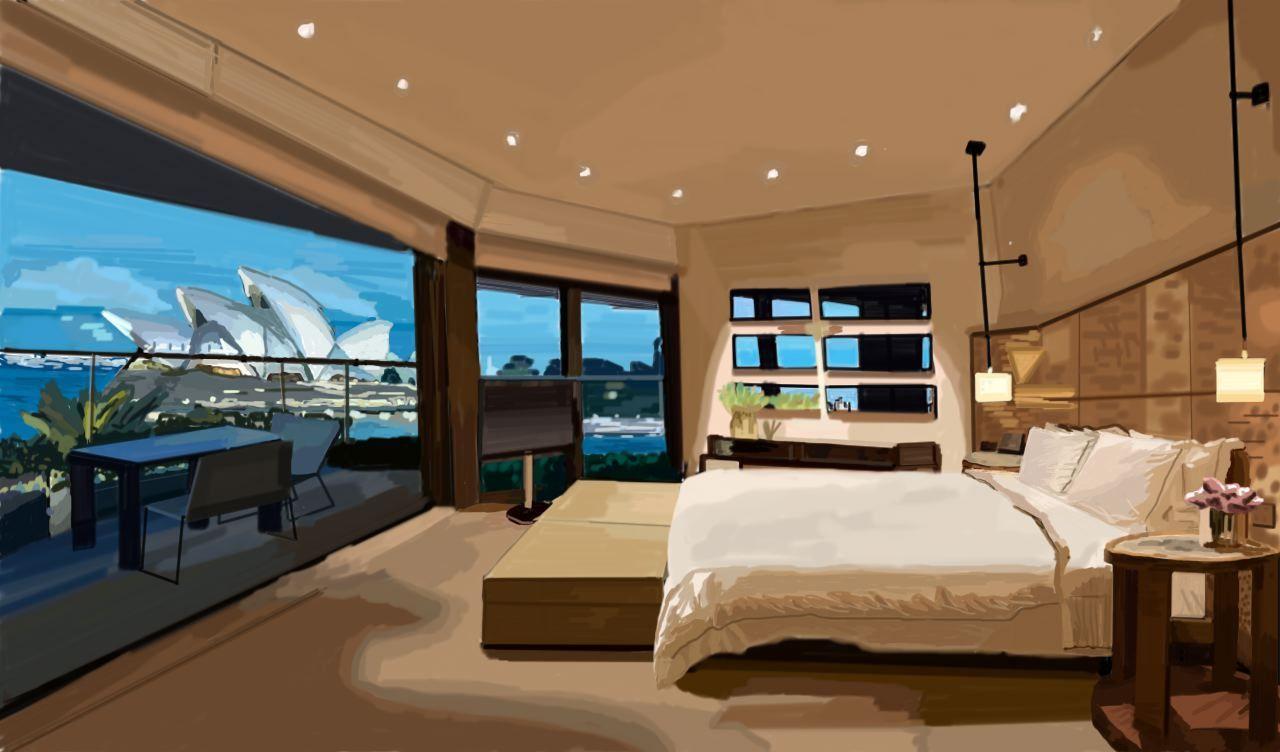 sydney habitación
