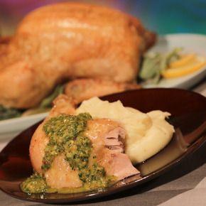 Roast Chicken/Salsa Verde/Creamy Potatoes