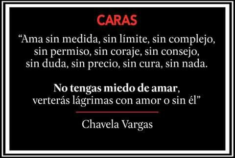Chavela Vargas.