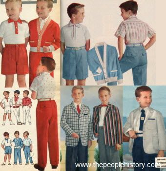 1950s Children S Fashion Part Of Our Fifties Fashions Section 50s Fashion Boys Childrens Fashion Boy Fashion
