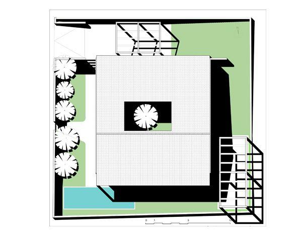 Progetto di una casa a patio in balle di paglia in Sardegna.