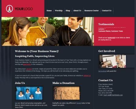 impressive charity website templates