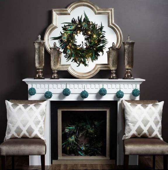 50 Most Beautiful Christmas Fireplace Decorating Ideas Christmas - christmas fireplace decor