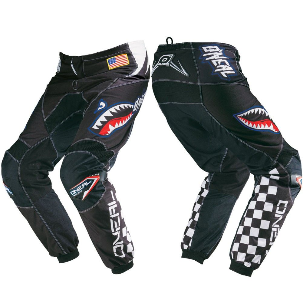 Oneal Element Afterburner Youth Motocross Pants Motocross Pants Motocross Riding Gear