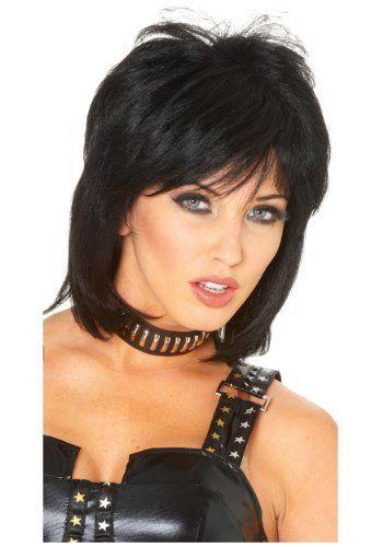 Joan Jett Wig Franco Http Www Amazon Com Dp B0055a450q Ref Cm Sw R Pi Dp Sjbipb0vjcmc7 Helena Msnd Short Hair Styles Easy Hair Styles Short Hair Styles