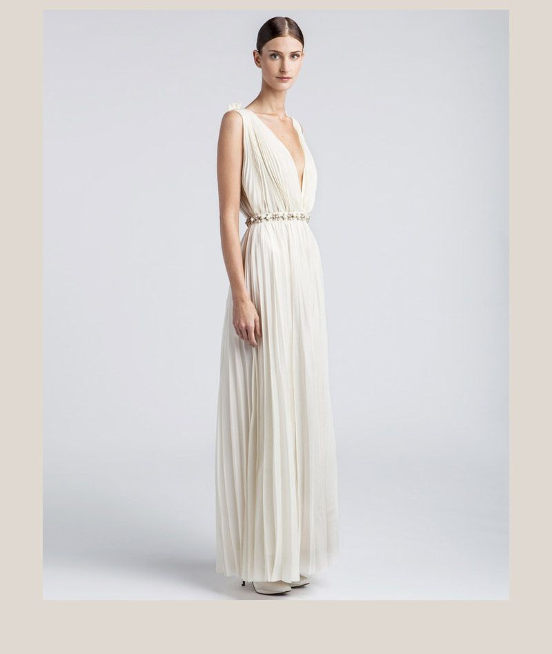 Lanvin Wedding Dress Whiter Than White Weddings Uk Style Blog