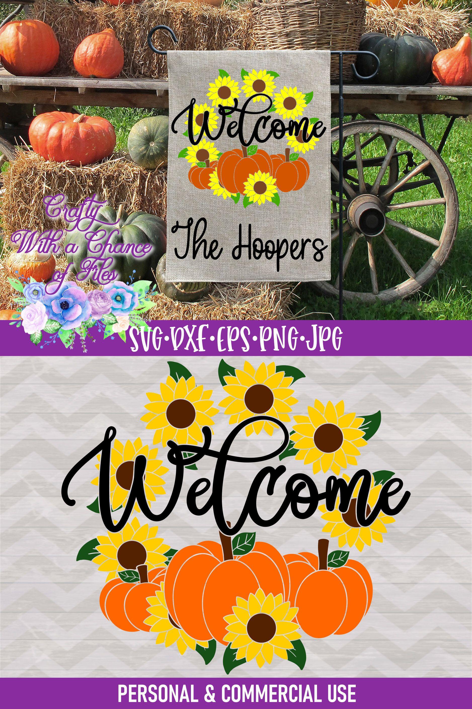 SVG Sunflowers SVG Pumpkins SVG Autumn