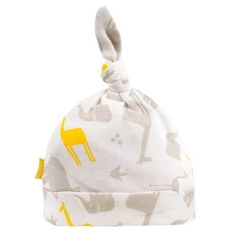 Kushies Preemie - Traditions Lt. Grey Knot Hats