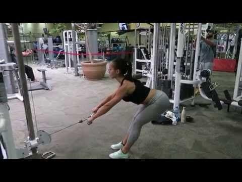 randi kennedy fitness  cable romanian deadlift  youtube