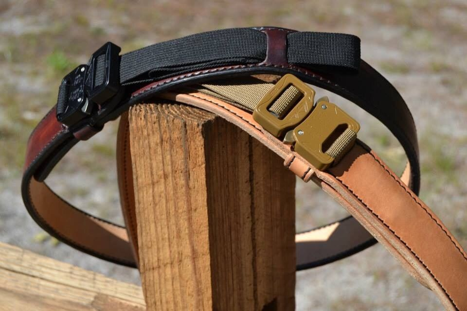 Mean Gene Leather Barbarian Belt Leather With Austrialpin Buckle
