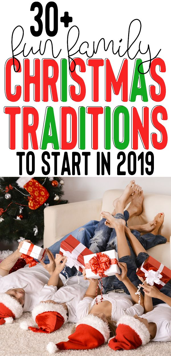 Best Christmas Traditions for Families in 2019! Plan some of these fun Christmas activities for your family this December, and make lasting memories with your kids. Traditions for little kids and adults - there's something for everyone on this list of festive things to do for fun at Christmastime. #christmas #traditions #christmasactivities #festive #deckthehalls #merrychristmas #familychristmas #kids #family