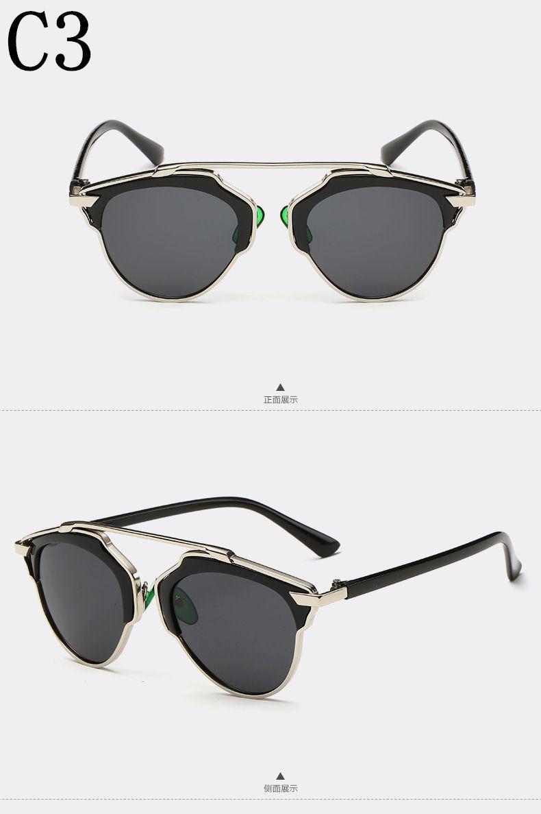 204b08557 Aliexpress.com : Buy Summer 2016 Cat Eye Sunglasses Women Brand Designer  Fashion Luxury High Quality Woman Men Vintage Sun Glasses Coating UV400  from ...
