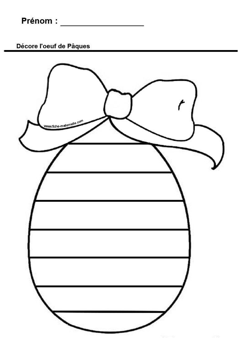 Graphisme autour de l oeuf de p ques graphisme - Oeufs paques maternelle ...