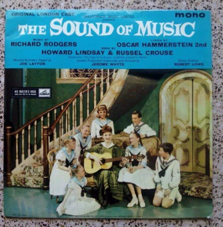 The Sound Of Music Original London Cast LP Vinyl Record