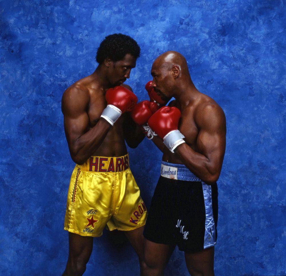 Image Result For Marvin Hagler Vs Tommy Hearns Heros Sport Idee Photo