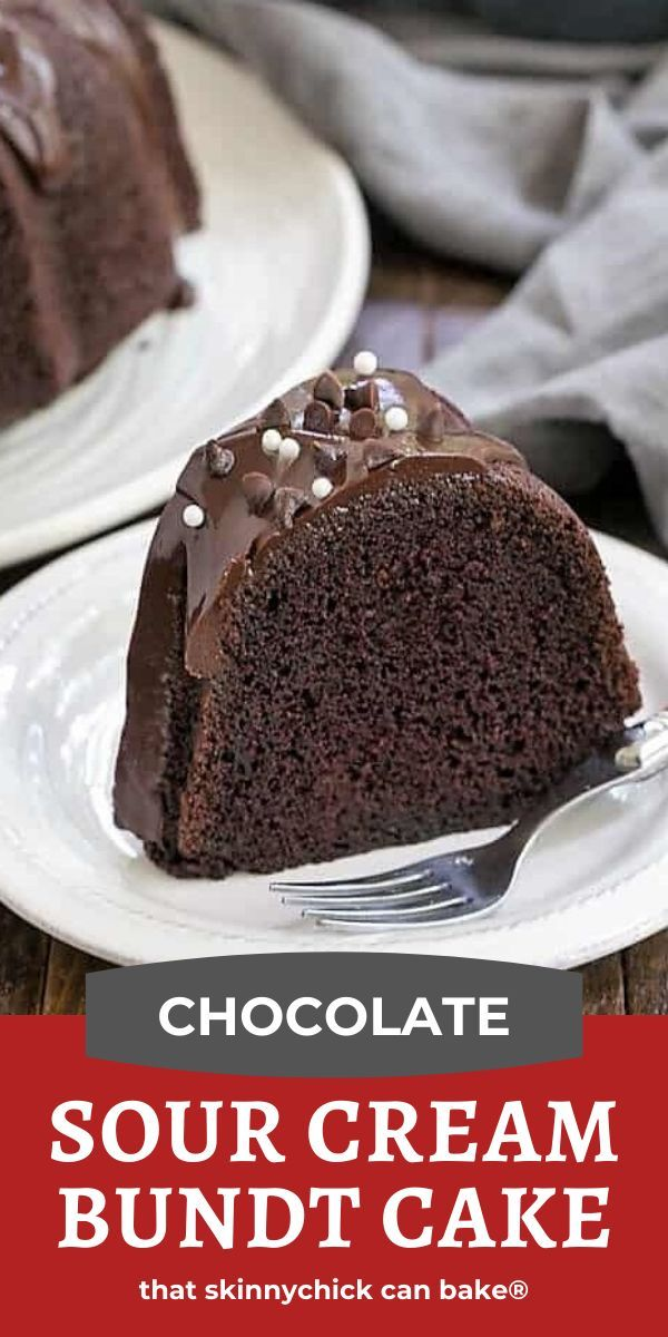 Chocolate Sour Cream Bundt Cake In 2020 Desserts Baking Dessert Recipes Easy