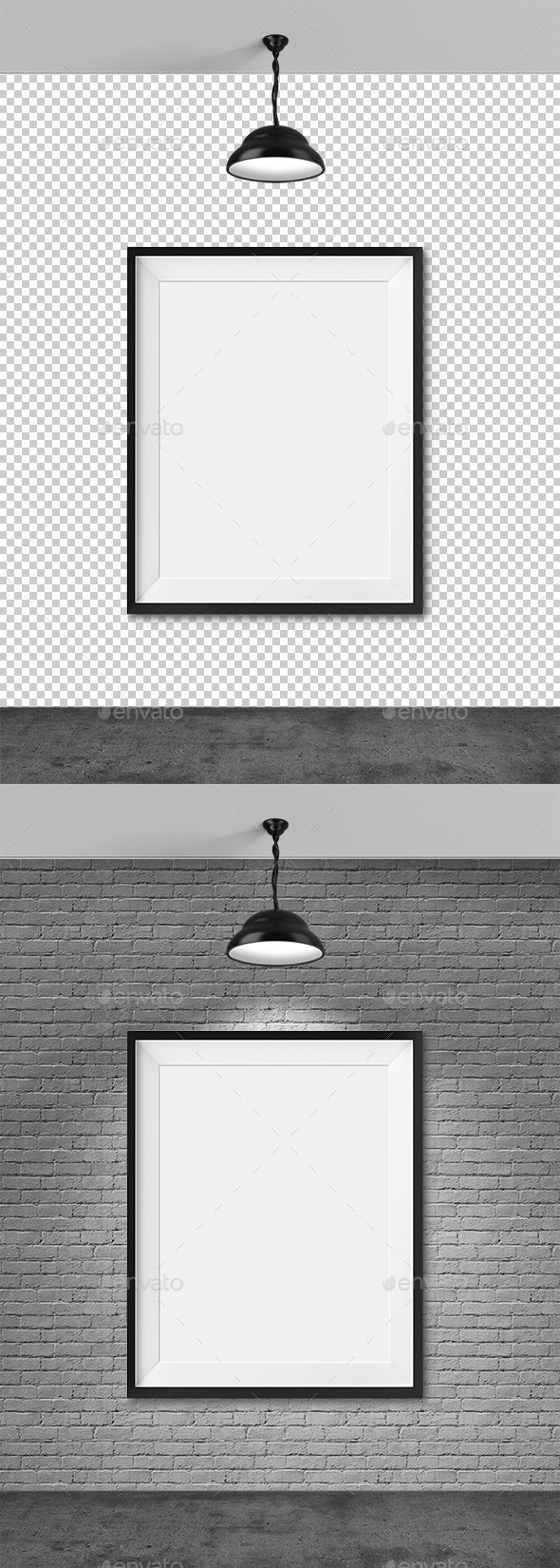 Blank Frame | Brick wall background, Photoshop and Font logo