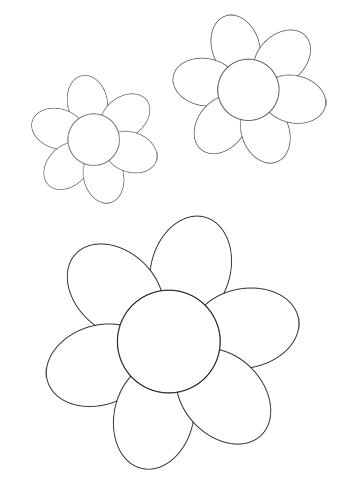 Blume Basteln 1 Blumen Basteln Blumen Basteln Mit Kindern Vorlagen Blumen Basteln