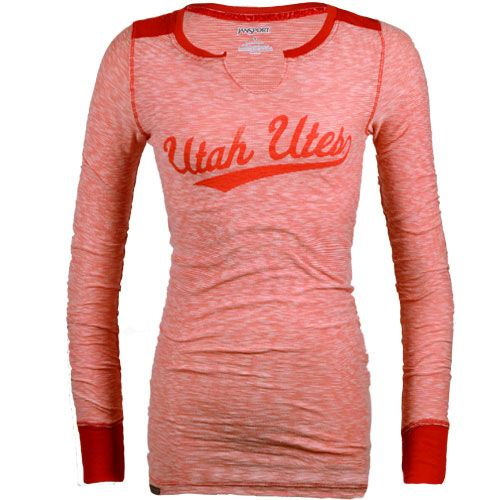 Utah Utes Women's TShirt Utah Red Zone. Pair this with