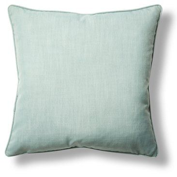 Check Out This Item At One Kings Lane Gramercy 22x22 Throw Pillow Light Blue