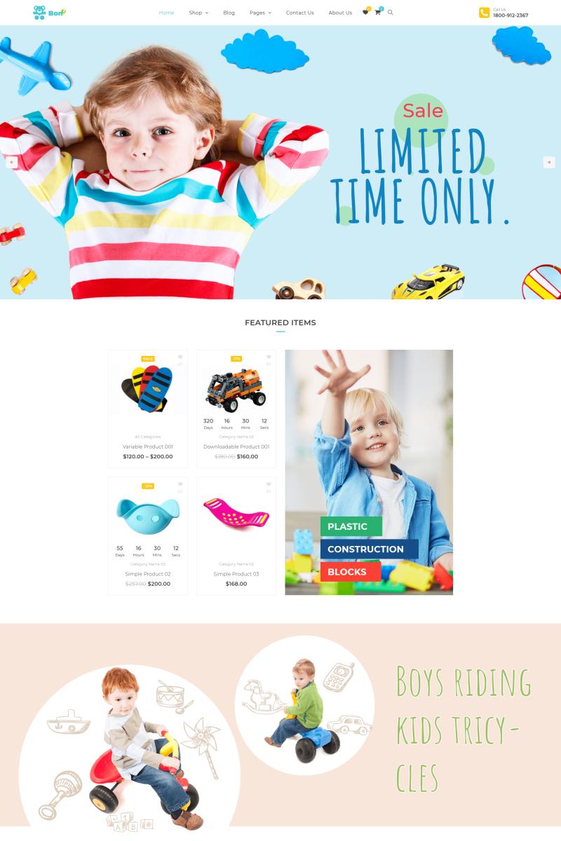 511dd7281265 Bonbon - Baby & Kids Store WooCommerce Theme | WooCommerce Themes ...