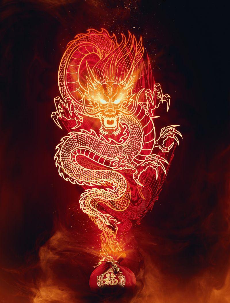 Pin On Fire Dragon