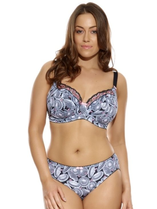 d428046586 This is Meagan Kerr  Plus Size Lingerie    Elomi Naoko Underwire Bra and  Briefs