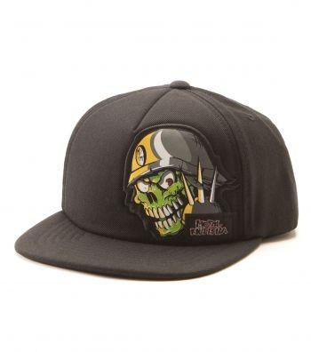 New Metal Mulisha YOUTH Boys Girls Black Trucker Baseball Hat Skull Motocross
