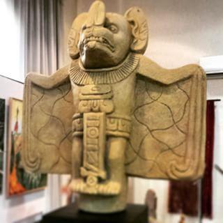 Camazotz Statue