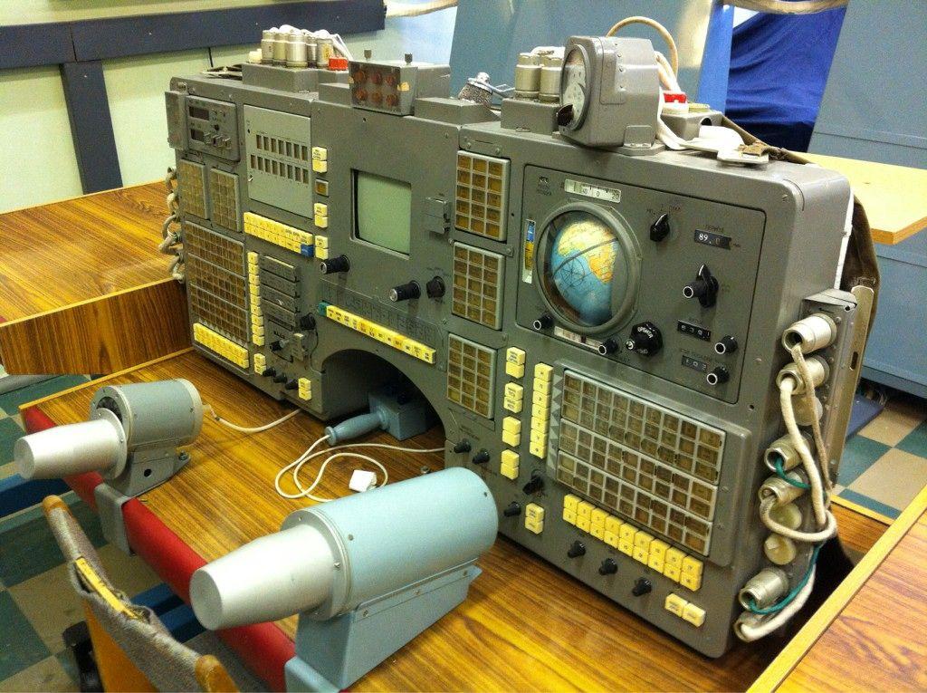 The Original Soyuz Control Panel Space Exploration Old