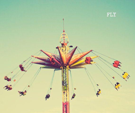 Fine Art Photography   retro fair carnival vintage par libertadleal, $25,00