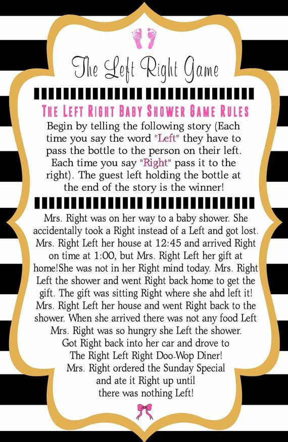 Baby Shower Pass The Parcel Story Part - 48: Kate Spade Inspired Baby Shower Games: 1 By PrettyPennyPrinting